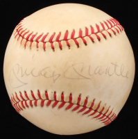 Mickey Mantle Signed OAL Baseball (JSA LOA)