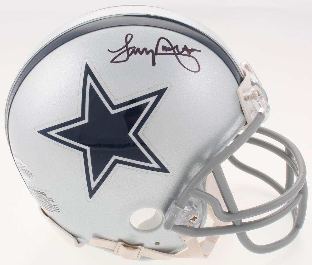 61ab218d1c8 Tony Dorsett Signed Dallas Cowboys Mini Helmet (Beckett COA)