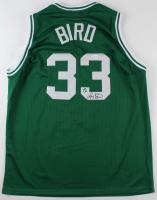 Larry Bird Signed Celtics Jersey (JSA COA & Bird Hologram)