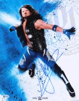 AJ Styles Signed WWE 11x14 Photo (Beckett COA)