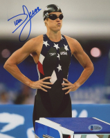 Dara Torres Signed Team USA 8x10 Photo (Beckett COA)