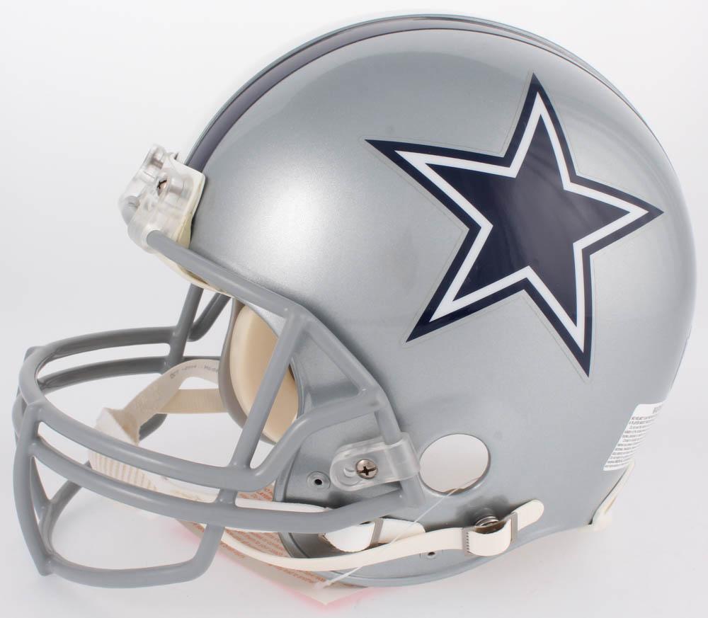 b90609834 Jason Witten & Tony Romo Signed Cowboys Full-Size Authentic On-Field Helmet  (