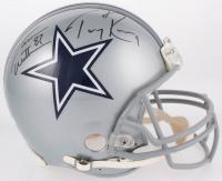 Jason Witten & Tony Romo Signed Cowboys Full-Size Authentic On-Field Helmet (JSA COA & Witten Hologram)