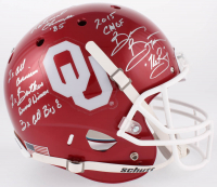 "Brian ""The Boz"" Bosworth Signed Oklahoma Sooners Full-Size Helmet with (5) Career Highlight Inscriptions (JSA COA)"