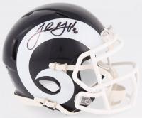 Jared Goff Signed Rams Speed Mini Helmet (PSA COA)