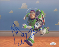 "Tim Allen Signed ""Toy Story"" 8x10 Photo Inscribed ""Buzz"" (JSA COA)"