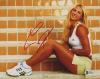 Anna Kournikova Signed 8x10 Photo (JSA COA)