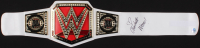 "Charlotte Flair Signed Women's WWE Championship Belt Inscribed ""WOOOO!"" (Pro Player Hologram)"