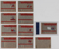 "1957 Topps Complete Set of (407) Baseball Cards with Brooks Robinson Signed 1957 Topps #328 RC Inscribed ""HOF 83"" (PSA Encapsulated) at PristineAuction.com"