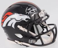Peyton Manning Signed Broncos Speed Mini Helmet (PSA COA)