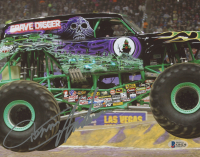 "Dennis Anderson Signed ""Grave Digger"" 8x10 Photo (Beckett COA)"