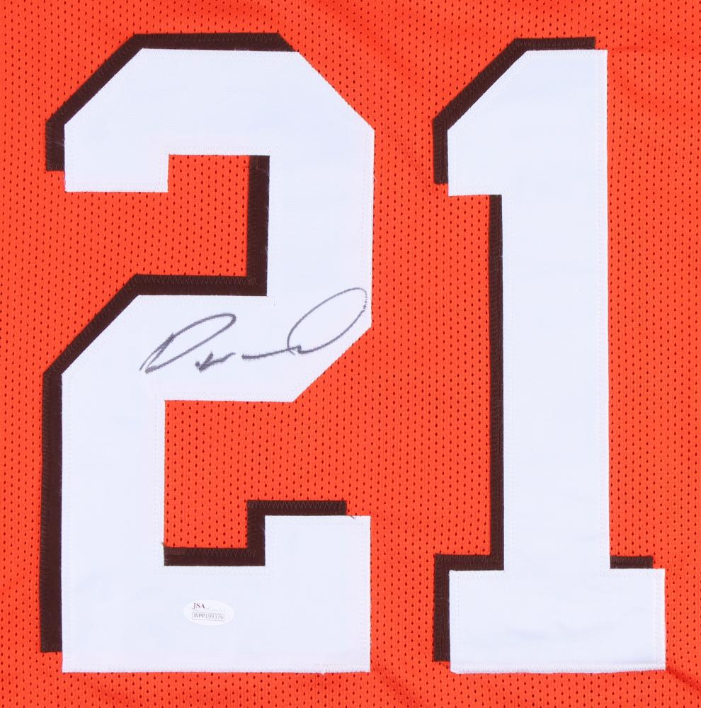 Denzel Ward Signed Cleveland Browns Jersey (JSA COA) at PristineAuction.com 3d1f2be10