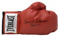 "Earnie Shavers Signed Everlast Boxing Glove Inscribed ""Peace"" (JSA COA)"