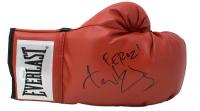 "Fernando Vargas Signed Everlast Boxing Glove Inscribed ""Feroz!"" (JSA COA)"