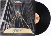 "Todd Rundgren Signed ""Oops! Wrong Planet"" Vinyl Record Album (Beckett COA)"