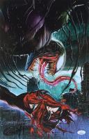 "Greg Horn Signed ""Venom: Spidey's Dead"" 11x17 Lithograph (JSA COA)"