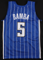Mo Bamba Signed Magic Jersey (Beckett Hologram)