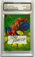 "John Romita Signed ""Spider-Man"" Custom Trading Card (PSA Encapsulated)"