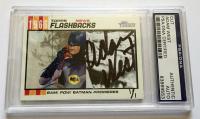 """Adam West Signed """"Batman"""" Custom Trading Card (PSA Encapsulated)"""