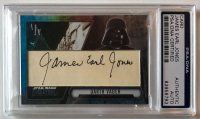 "James Earl Jones Signed ""Star Wars"" Custom Trading Card (PSA Encapsulated)"