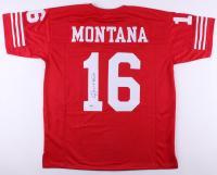 Joe Montana Signed 49ers Jersey (Beckett COA)