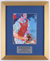 "LeRoy Neiman ""Thurman Munson"" 12.5x15.5 Custom Framed Print Display"