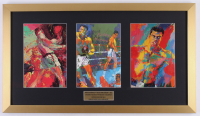 "LeRoy Neiman ""Muhammad Ali"" 16.5x29 Custom Framed Prints Display"