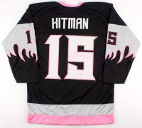 "Bret ""Hitman"" Hart Signed ""Calgary Hitman"" Jersey (PSA COA)"