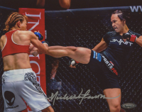 Michelle Waterson Signed UFC 8x10 Photo (TriStar Hologram)