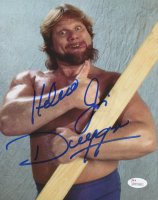 """Hacksaw"" Jim Duggan Signed WWE 8x10 Photo (JSA COA)"