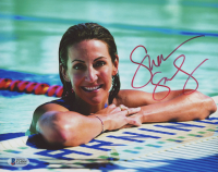 Summer Sanders Signed 8x10 Photo (Beckett COA)