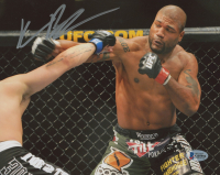 "Quinton ""Rampage"" Jackson Signed 8x10 Photo (Beckett Hologram)"