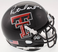 Pat Mahomes Signed Texas Tech Red Raiders Mini Helmet (JSA COA)