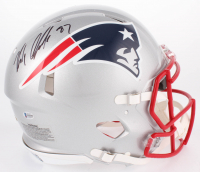 Rob Gronkowski Signed Patriots Full-Size Authentic On-Field Speed Helmet (Beckett COA)