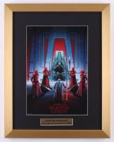 """IMAX  """"Star Wars: The Last Jedi"""" Special Edition Art 15x19 Custom Framed Print Display"""