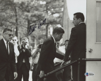 Clint Hill Signed 8x10 Photo (Beckett COA)