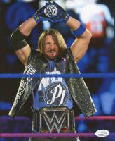 A. J. Styles Signed WWE 8x10 Photo (JSA COA)