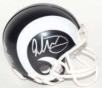Todd Gurley Signed Rams Mini Speed Helmet (Beckett COA)