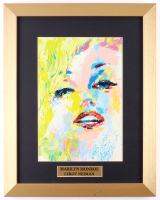 "LeRoy Neiman ""Mariyln Monroe"" 13.5x17 Custom Framed Print Display"