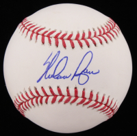 Nolan Ryan Signed OML Baseball (JSA COA & Ryan Hologram)