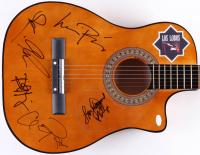 "Los Lobos ""La Bamba"" 38"" Acoustic Guitar Signed by (6) Lou Diamond Phillips, Cesar Rosas, David Hidalgo, Steve Berlin, Conrad Lozano & Louie Perez (JSA COA)"