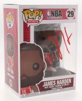 James Harden Signed NBA #29 Funko Pop! Vinyl Figure (Beckett COA)