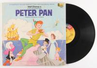 """Vintage 1969 """"Peter Pan"""" Vinyl Record Album with Storybook"""