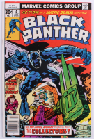"""1977 """"Black Panther"""" Issue #4 Marvel Comic Book"""