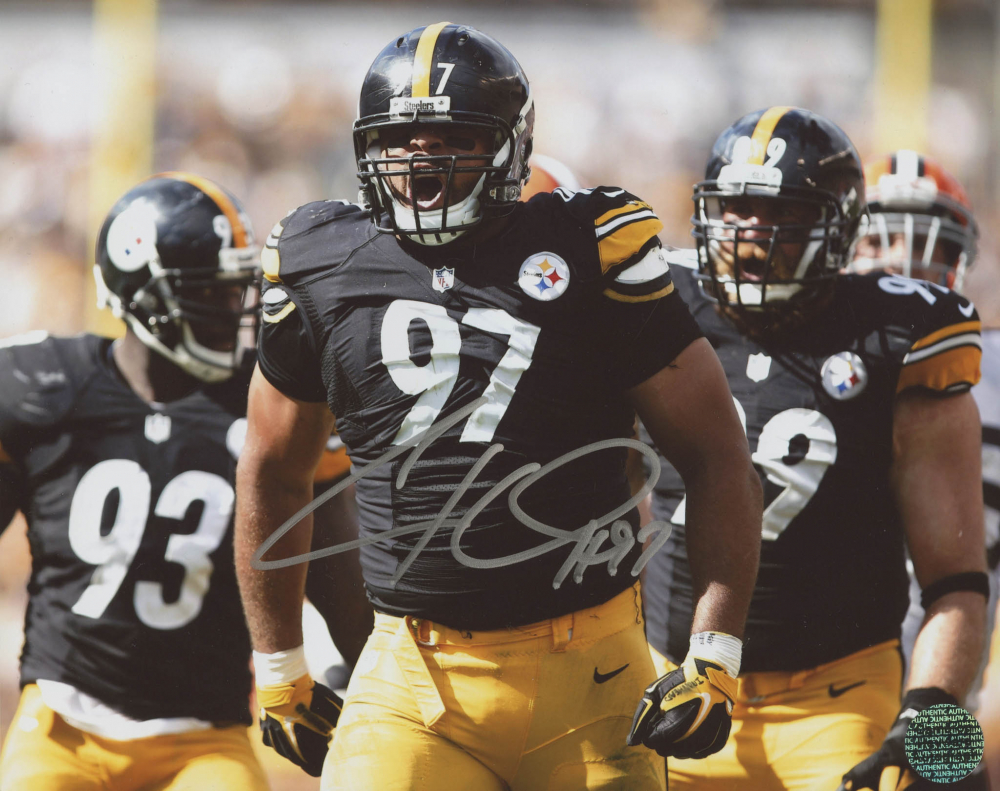 ac17dd149d6 Cameron Heyward Signed Steelers 8x10 Photo (Heyward Hologram) at  PristineAuction.com