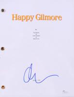 "Adam Sandler Signed ""Happy Gilmore"" Full Movie Script (JSA COA) at PristineAuction.com"