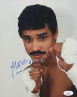 Alexis Arguello Signed 8x10 Photo (JSA COA)