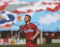 Bastian Schweinsteiger Signed Germany 8x10 Photo (Beckett COA)