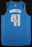Dirk Nowitzki Signed Mavericks Nike Jersey (Beckett COA)