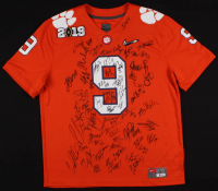 2018-19 Clemson Tigers Jersey Team-Signed by (56) with Derion Kendrick, Lyn-J Dixon, Tanner Muse, and Mike Jones Jr. (Beckett Hologram)